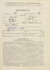 Popis prebivalstva 31. 3. 1931<br />Ljubljana<br />Ižanska cesta 70<br />Population census 31 March 1931