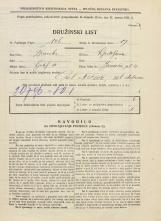Popis prebivalstva 31. 3. 1931<br />Ljubljana<br />Janševa ulica 4<br />Population census 31 March 1931