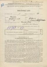 Popis prebivalstva 31. 3. 1931<br />Ljubljana<br />Janševa ulica NN<br />Population census 31 March 1931