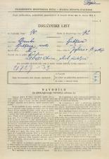 Popis prebivalstva 31. 3. 1931<br />Ljubljana<br />Jegličeva ulica 13<br />Population census 31 March 1931
