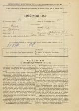Popis prebivalstva 31. 3. 1931<br />Ljubljana<br />Jelovškova ulica 2<br />Population census 31 March 1931