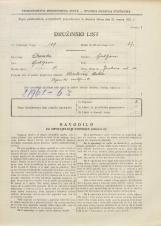 Popis prebivalstva 31. 3. 1931<br />Ljubljana<br />Jenkova ulica 10<br />Population census 31 March 1931