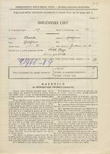 Popis prebivalstva 31. 3. 1931<br />Ljubljana<br />Jenkova ulica 12<br />Population census 31 March 1931