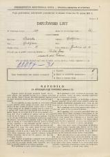 Popis prebivalstva 31. 3. 1931<br />Ljubljana<br />Jenkova ulica 14<br />Population census 31 March 1931