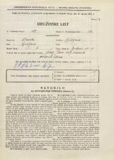 Popis prebivalstva 31. 3. 1931<br />Ljubljana<br />Jenkova ulica 15<br />Population census 31 March 1931