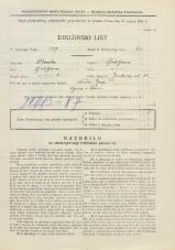 Popis prebivalstva 31. 3. 1931<br />Ljubljana<br />Jenkova ulica 20<br />Population census 31 March 1931
