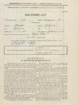 Popis prebivalstva 31. 3. 1931<br />Ljubljana<br />Jenkova ulica 22<br />Population census 31 March 1931