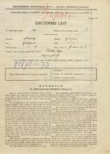 Popis prebivalstva 31. 3. 1931<br />Ljubljana<br />Jenkova ulica 3<br />Population census 31 March 1931