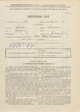 Popis prebivalstva 31. 3. 1931<br />Ljubljana<br />Jenkova ulica 4<br />Population census 31 March 1931