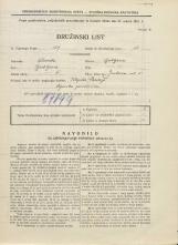 Popis prebivalstva 31. 3. 1931<br />Ljubljana<br />Jenkova ulica 5<br />Population census 31 March 1931