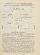 Popis prebivalstva 31. 3. 1931<br />Ljubljana<br />Jenkova ulica 7<br />Population census 31 March 1931