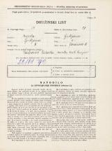 Popis prebivalstva 31. 3. 1931<br />Ljubljana<br />Jeranova ulica 11<br />Population census 31 March 1931