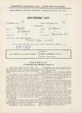 Popis prebivalstva 31. 3. 1931<br />Ljubljana<br />Jeranova ulica 11a<br />Population census 31 March 1931