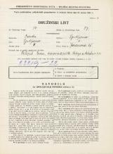 Popis prebivalstva 31. 3. 1931<br />Ljubljana<br />Jeranova ulica 15<br />Population census 31 March 1931