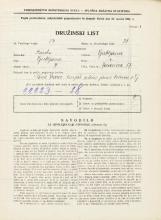 Popis prebivalstva 31. 3. 1931<br />Ljubljana<br />Jeranova ulica 17<br />Population census 31 March 1931