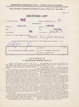 Popis prebivalstva 31. 3. 1931<br />Ljubljana<br />Jezerska ulica 6<br />Population census 31 March 1931
