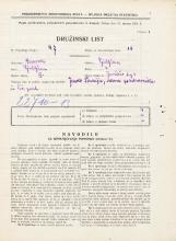 Popis prebivalstva 31. 3. 1931<br />Ljubljana<br />Jurčičev trg 3<br />Population census 31 March 1931