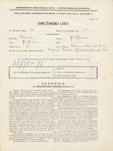 Popis prebivalstva 31. 3. 1931<br />Ljubljana<br />Kamniška ulica 13<br />Population census 31 March 1931