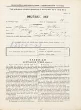Popis prebivalstva 31. 3. 1931<br />Ljubljana<br />Sv. Jerneja cesta 11<br />Population census 31 March 1931