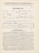 Popis prebivalstva 31. 3. 1931<br />Ljubljana<br />Sv. Jerneja cesta 2<br />Population census 31 March 1931