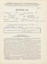 Popis prebivalstva 31. 3. 1931<br />Ljubljana<br />Sv. Jerneja cesta 21<br />Population census 31 March 1931