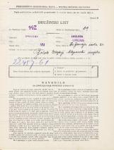 Popis prebivalstva 31. 3. 1931<br />Ljubljana<br />Sv. Jerneja cesta 24<br />Population census 31 March 1931