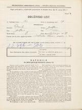 Popis prebivalstva 31. 3. 1931<br />Ljubljana<br />Sv. Jerneja cesta 29<br />Population census 31 March 1931