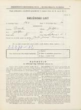 Popis prebivalstva 31. 3. 1931<br />Ljubljana<br />Sv. Jerneja cesta 3<br />Population census 31 March 1931