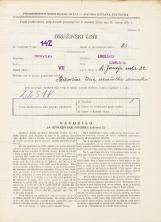 Popis prebivalstva 31. 3. 1931<br />Ljubljana<br />Sv. Jerneja cesta 32<br />Population census 31 March 1931