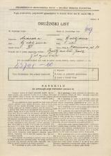 Popis prebivalstva 31. 3. 1931<br />Ljubljana<br />Karunova ulica 14<br />Population census 31 March 1931