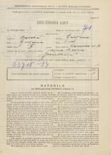 Popis prebivalstva 31. 3. 1931<br />Ljubljana<br />Karunova ulica 16<br />Population census 31 March 1931