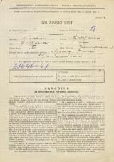 Popis prebivalstva 31. 3. 1931<br />Ljubljana<br />Karunova ulica 3<br />Population census 31 March 1931