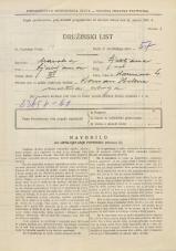 Popis prebivalstva 31. 3. 1931<br />Ljubljana<br />Karunova ulica 4<br />Population census 31 March 1931