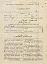 Popis prebivalstva 31. 3. 1931<br />Ljubljana<br />Karunova ulica 6<br />Population census 31 March 1931