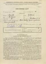 Popis prebivalstva 31. 3. 1931<br />Ljubljana<br />Kavškova cesta 18<br />Population census 31 March 1931