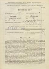Popis prebivalstva 31. 3. 1931<br />Ljubljana<br />Kavškova cesta 28<br />Population census 31 March 1931