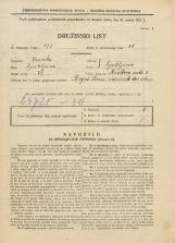 Popis prebivalstva 31. 3. 1931<br />Ljubljana<br />Kavškova cesta 3<br />Population census 31 March 1931