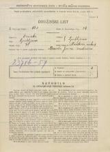 Popis prebivalstva 31. 3. 1931<br />Ljubljana<br />Kavškova cesta 5<br />Population census 31 March 1931