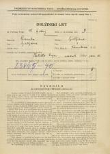 Popis prebivalstva 31. 3. 1931<br />Ljubljana<br />Kersnikova ulica 3<br />Population census 31 March 1931