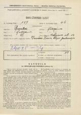 Popis prebivalstva 31. 3. 1931<br />Ljubljana<br />Kettejeva ulica 14<br />Population census 31 March 1931