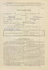 Popis prebivalstva 31. 3. 1931<br />Ljubljana<br />Kladezna ulica 10<br />Population census 31 March 1931