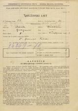 Popis prebivalstva 31. 3. 1931<br />Ljubljana<br />Knafljeva ulica 4<br />Population census 31 March 1931