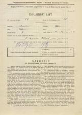 Popis prebivalstva 31. 3. 1931<br />Ljubljana<br />Knafljeva ulica 5<br />Population census 31 March 1931