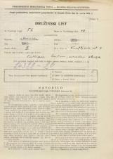 Popis prebivalstva 31. 3. 1931<br />Ljubljana<br />Knafljeva ulica 9<br />Population census 31 March 1931