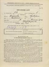 Popis prebivalstva 31. 3. 1931<br />Ljubljana<br />Knezova ulica 16<br />Population census 31 March 1931