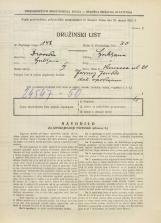 Popis prebivalstva 31. 3. 1931<br />Ljubljana<br />Knezova ulica 21<br />Population census 31 March 1931