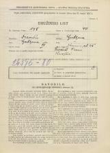 Popis prebivalstva 31. 3. 1931<br />Ljubljana<br />Knezova ulica 25<br />Population census 31 March 1931