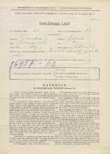 Popis prebivalstva 31. 3. 1931<br />Ljubljana<br />Kodeljevo 19<br />Population census 31 March 1931