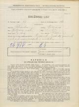 Popis prebivalstva 31. 3. 1931<br />Ljubljana<br />Kodeljevo 3<br />Population census 31 March 1931