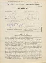 Popis prebivalstva 31. 3. 1931<br />Ljubljana<br />Kodeljevo 8<br />Population census 31 March 1931